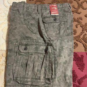 Arizona Jean Co. Camo Cargo Shorts size 36